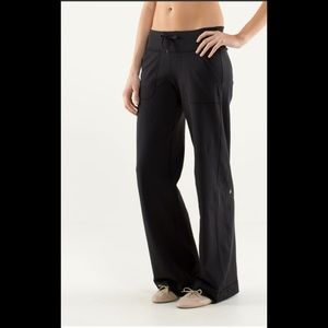 Lululemon Still Grounded Pants Hi Rise Yoga Luon